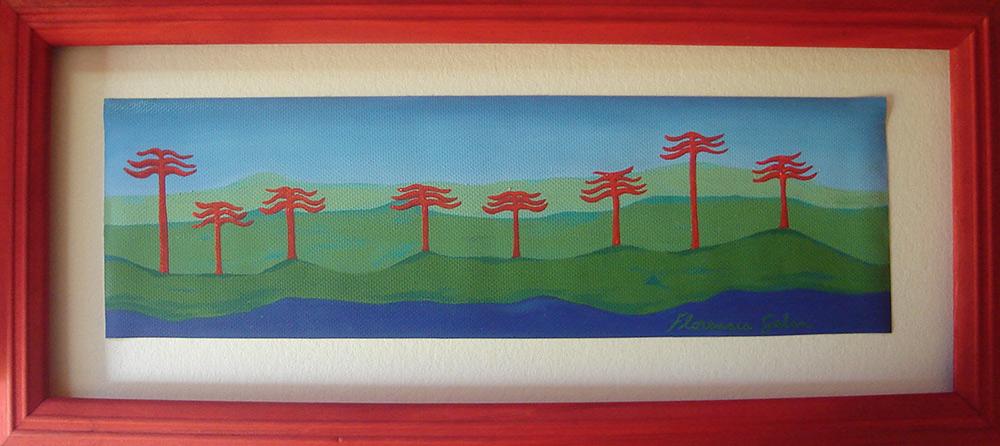 46-acaucarias-rojas-54x25-oleosobretela-marco-rojo