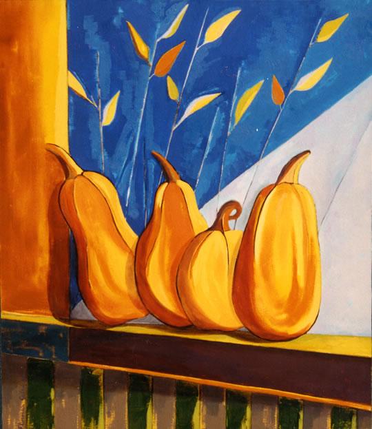 11-zapallos-y-hojas-60x70